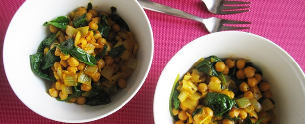 Quick & Easy Chana Masala - Vegan & Gluten-Free