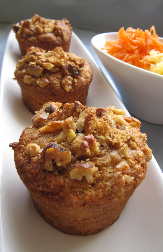 Carrot Cake Mix With Pineapple Muffins