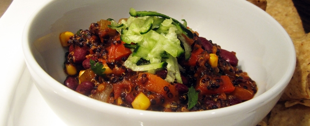 Quinoa Chili - Vegan and Gluten-Free