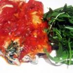 Tofu & Spinach Cannelloni (Manicotti)