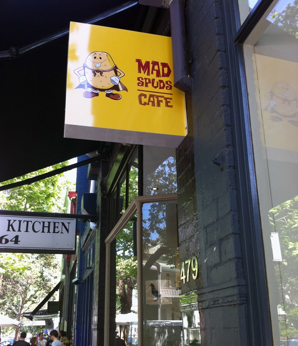 Mad Spuds Cafe Sydney - Restaurant Review