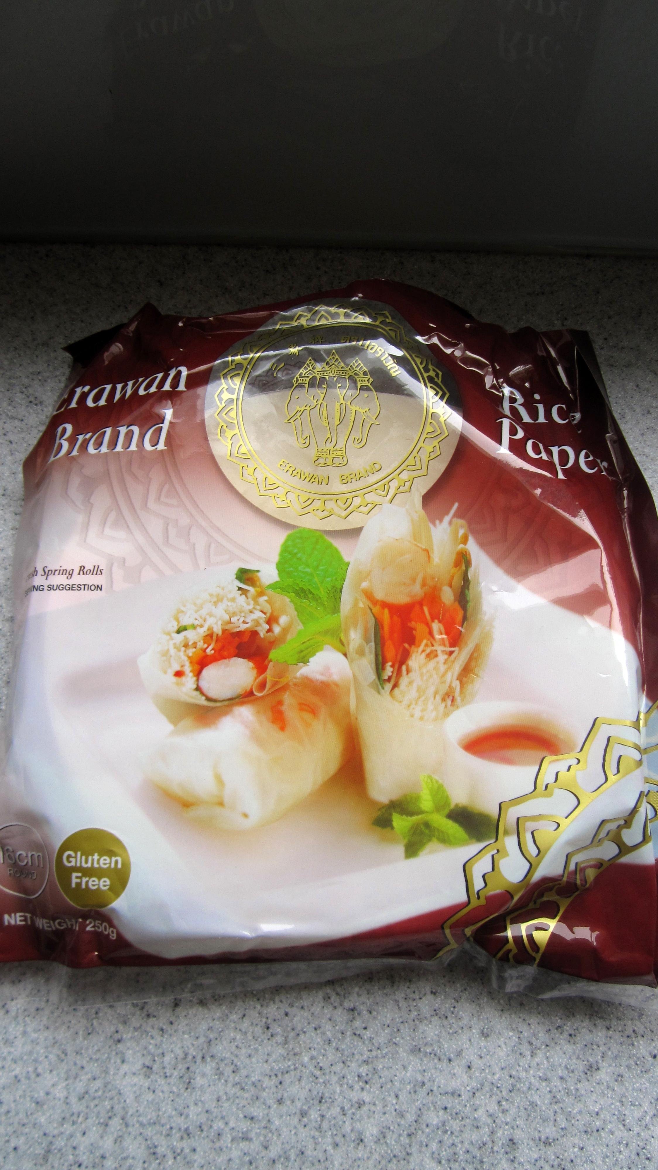 Vietnamese-Style Fresh Spring Rolls (Summer Rolls) with Peanut Sauce - Vegan / Gluten-Free
