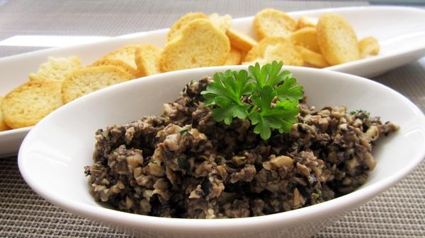 Mushroom Tapenade - Vegan & Gluten-Free