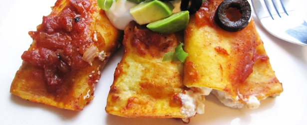 Easy Enchiladas (Vegan, Gluten-Free, Low-Fat)