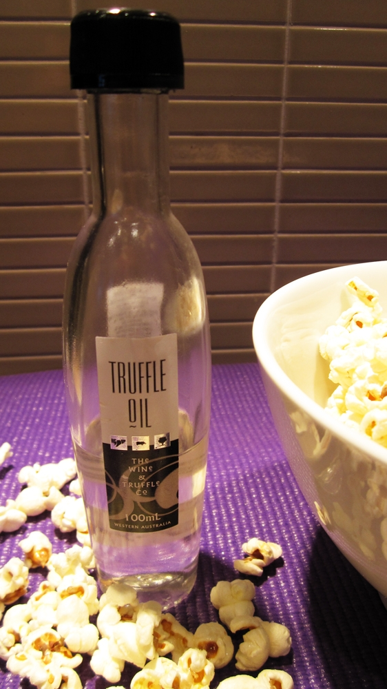White Truffle Popcorn - Vegan and Gluten-Free