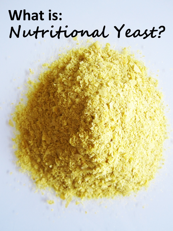 What is nutritional yeast made of