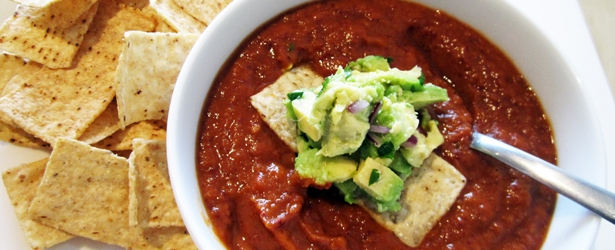 Chili Soup (Kidney Bean Soup) - Vegan & Gluten-Free