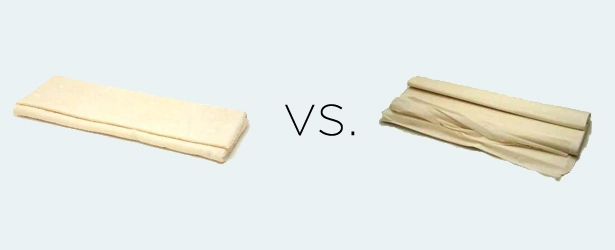 Puff Pastry vs. Phyllo Dough