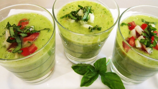 Green Gazpacho - Raw, Vegan and Gluten-Free!