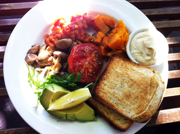 Vegan Big Breakfast - Kawa Sydney - Restaurant Review