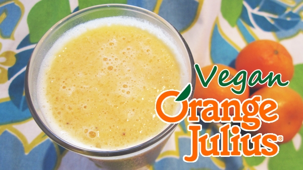 Vegan Orange Julius Protein Shake (Gluten-Free)