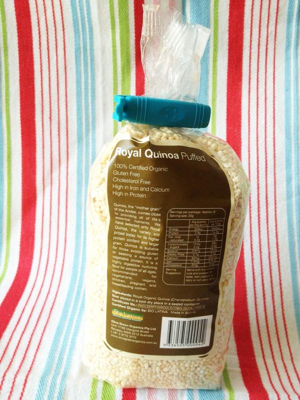 Puffed Quinoa Peanut Butter Balls - Vegan & Gluten-Free