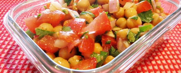 Easy Mexican Chickpea Salad - Vegan & Gluten-Free