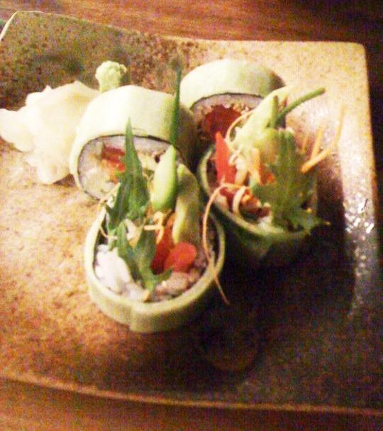 Tokonoma Sydney - Restaurant Review - Sarada Maki Veggie Roll