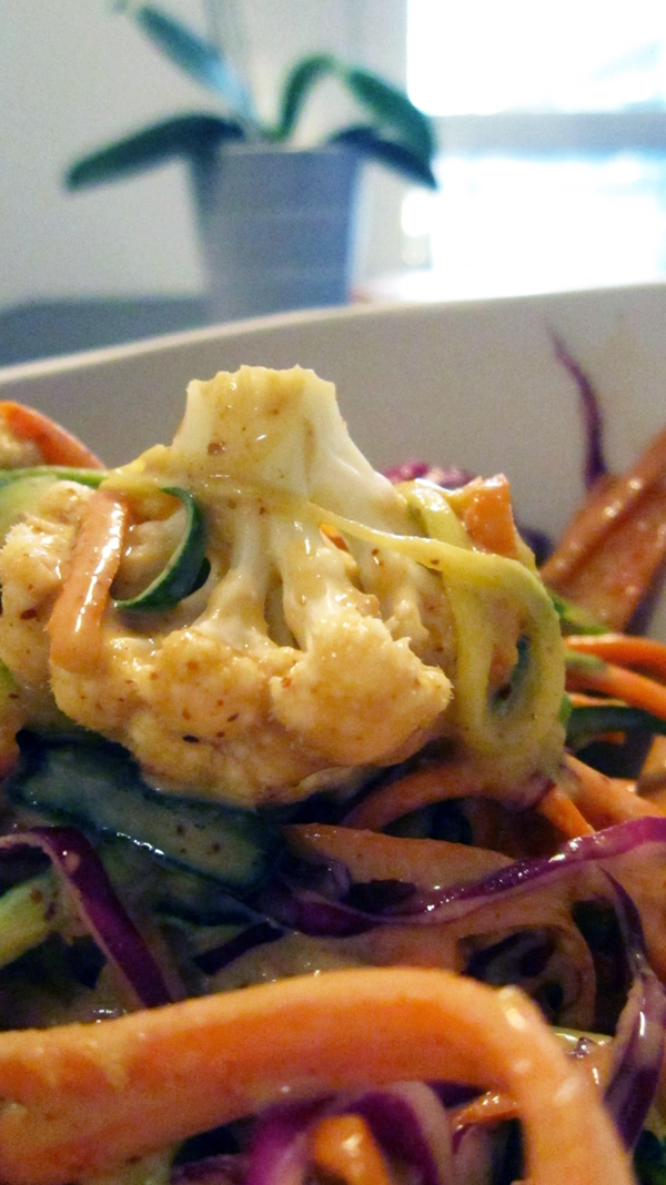 Raw Pad Thai - Vegan and Gluten-Free
