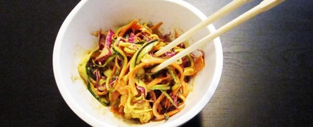 Raw pad thai recipe w photos vegan vegangela forumfinder Images