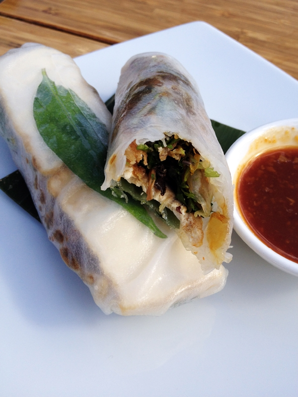 Vegan Rice Paper Rolls from Miss Chu @ Sydney Opera House Kitchen - Restaurant Review