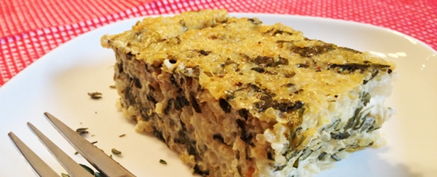 Vegan nutritional yeast recipes vegangela spinach lemon quinoa bake forumfinder Gallery