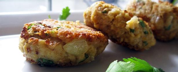 Vegan food processor recipes vegangela quinoa falafel with avocado tahini dressing forumfinder Image collections