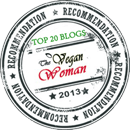 The Vegan Woman - 2013 Vegan Food Blog Guide