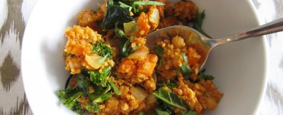Quick & Easy Indian Curry Quinoa