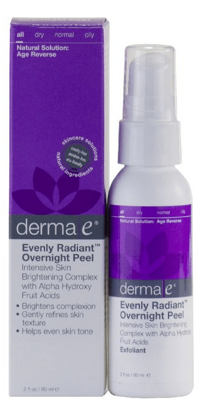 Derma e - Evenly Radiant Overnight Peel (Vegan)