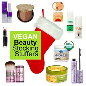 Vegan Beauty Stocking Stuffers