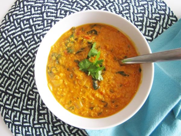 Vegan Coconut Curry Lentil Soup Recipe