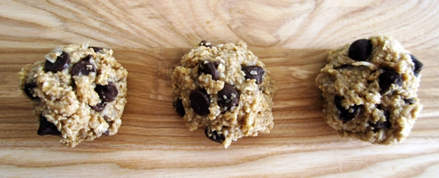 Almost Raw Cookie Dough Balls - Vegan and Gluten-Free
