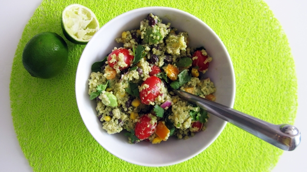 Southwestern Pasta Salad With Creamy Avocado Dressing Recipes ...