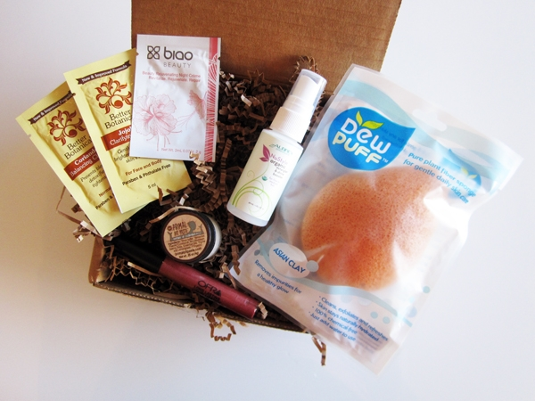 Vegan Cuts: January 2014 Beauty Box