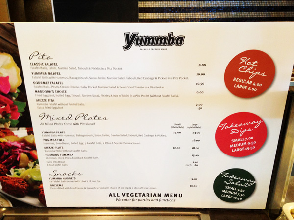 Yummba Bondi Junction (Sydney), Australia - Restaurant Review